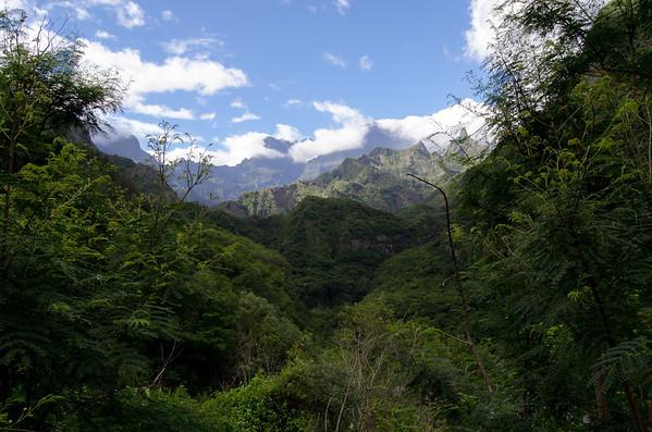 Cilaos, route de Saint-Louis, Réunion