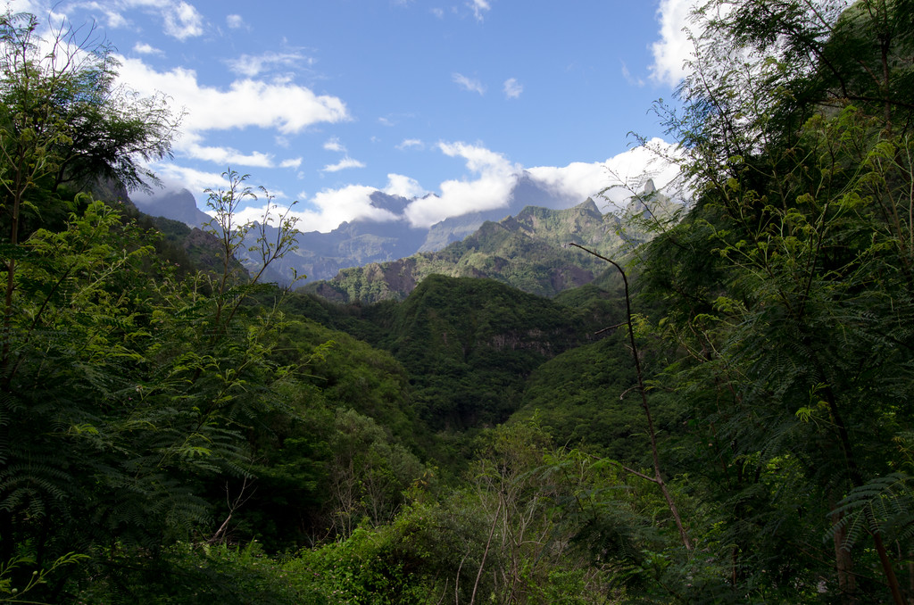 Cilaos, route de Saint-Louis, Réunion